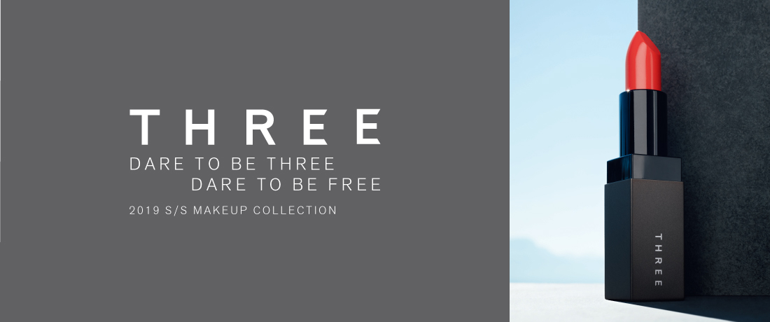 DARE TO BE THREE DARE TO BE FREE 2019 S/S MAKEUP COLLECTION