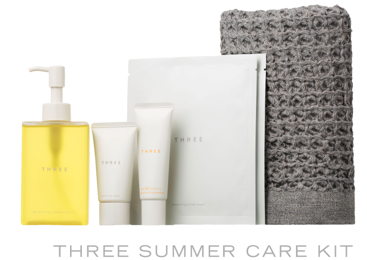THREE SUMMER CARE KIT