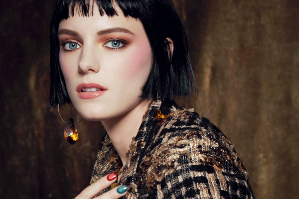 GIRL IN AMBER / CRYSTAL VISIONS</br>2019 A/W MAKEUP COLLECTION